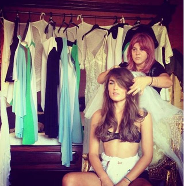 blog130114 lingerie Instagram izveštaj: Venčanje Bambi Northwood Blyth