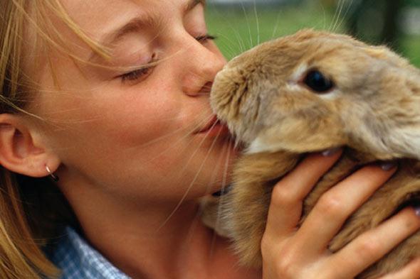 child with rabbit 012513 Deca i životinje