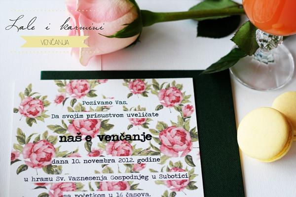 4 Inspiracija: Lale i karmini venčanja