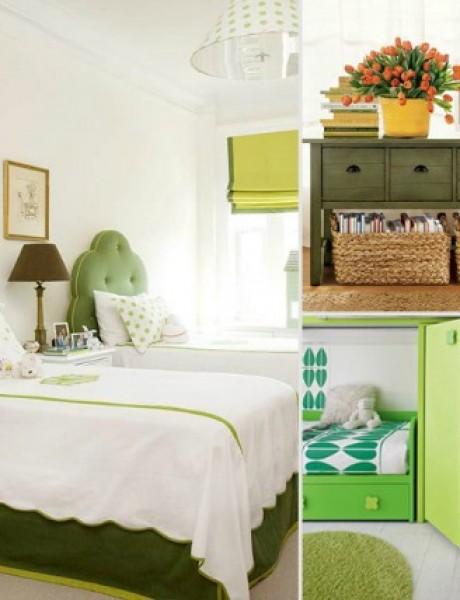 Obojite sobu u boje prirode