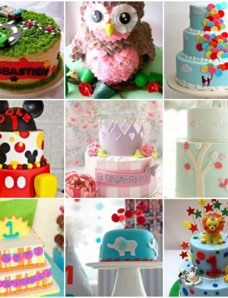 10 jedinstvenih torti za proslavu rođendana vaše bebe
