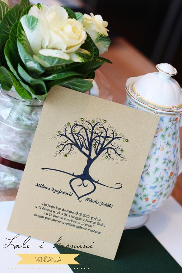 5 Inspiracija: Lale i karmini venčanja