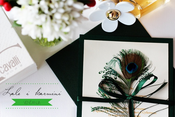 6 Inspiracija: Lale i karmini venčanja