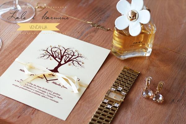 7 Inspiracija: Lale i karmini venčanja