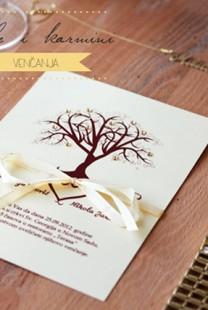 Inspiracija: Lale i karmini venčanja