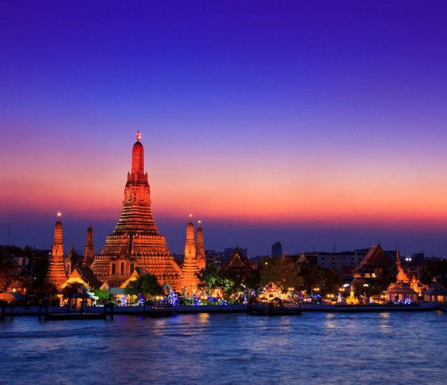 Bangkok Thailand Zabavne destinacije za devojačko veče