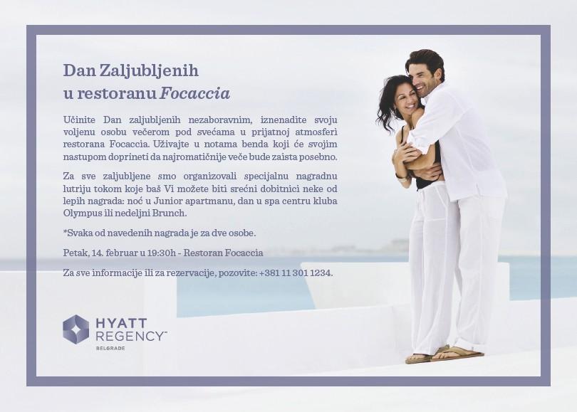 Dan Zaljubljenih u Hajatu Dan zaljubljenih u hotelu Hajat