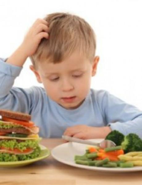 Šta jedu zdrava deca?