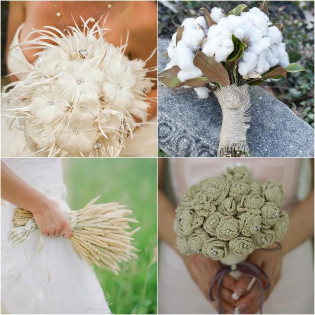Slika 10 Alternativne ideje za svadbeni buket