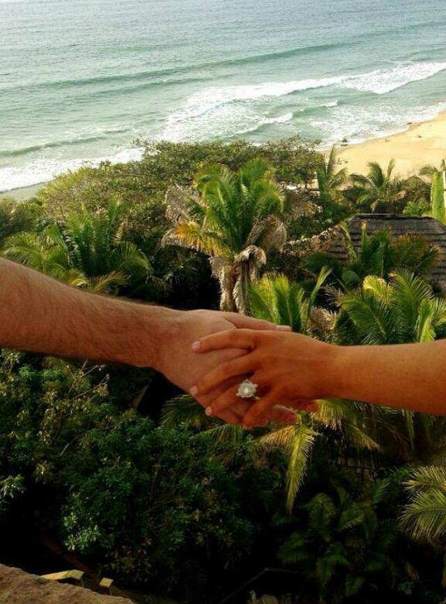 Slika 12 Kristina Agilera se verila na Dan zaljubljenih