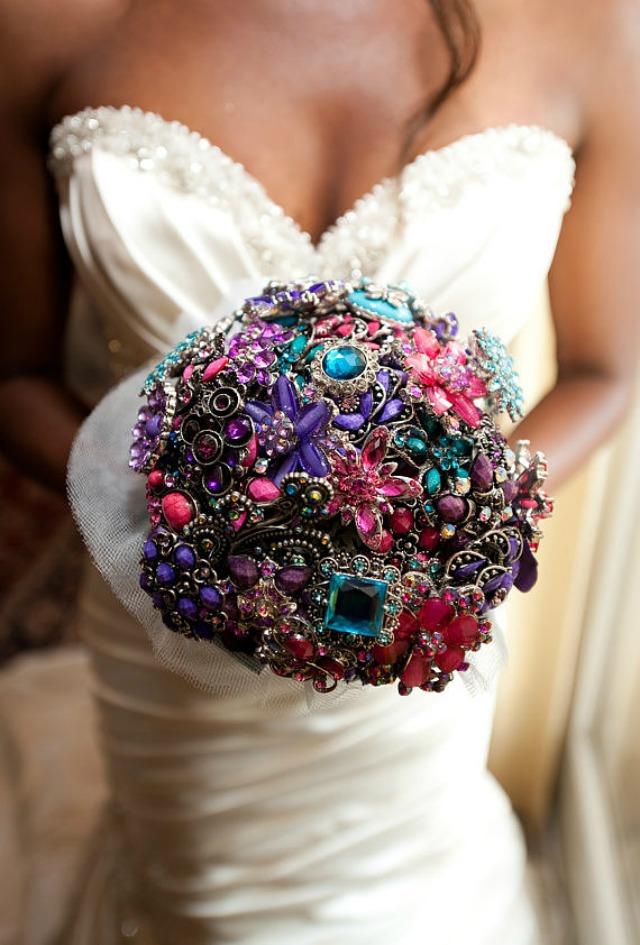 Slika 21 Alternativne ideje za svadbeni buket