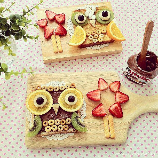 What Hoot Ustaj, vreme je za doručak: Čokolada i voće