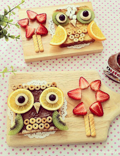 Ustaj, vreme je za doručak: Čokolada i voće