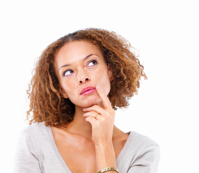 woman thinking 2 Zašto nas pogađa pljuvanje?