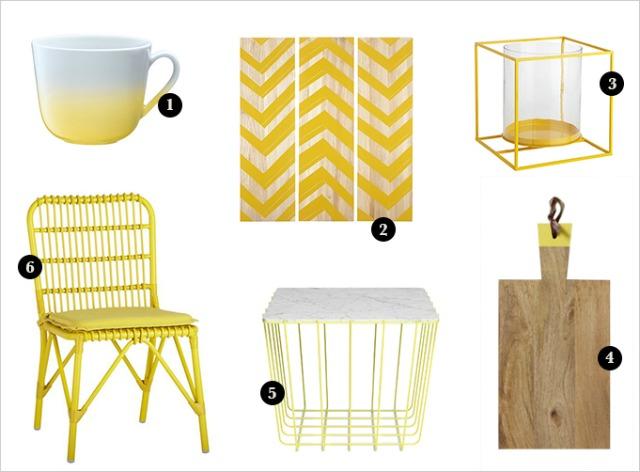214 Dekor i inspiracija: Limun žuta boja