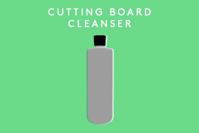 4 cutting board cleanser Napravite sami: Sredstva za čišćenje kuće