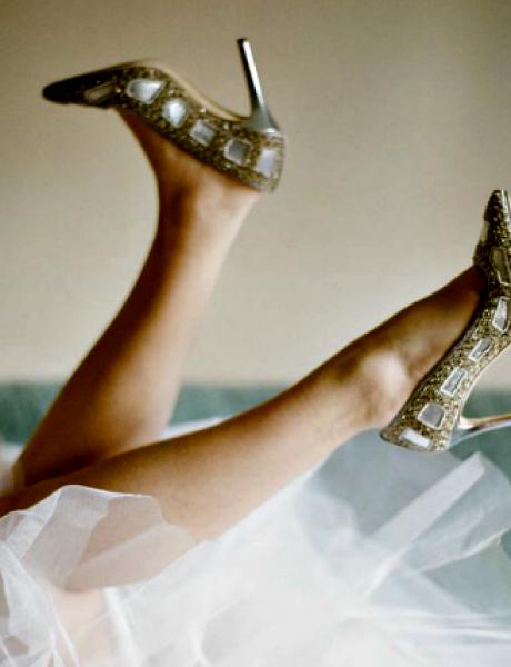 Aksesoar dana: Zlatne cipele