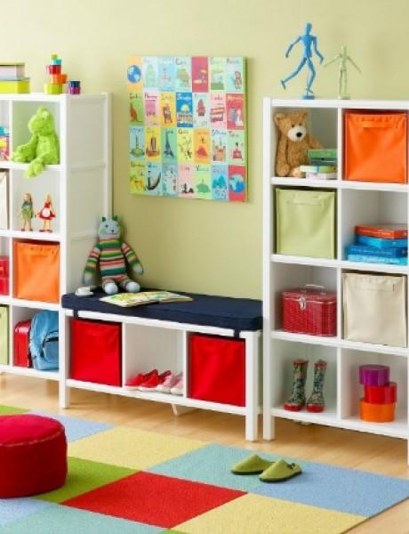 Dobra organizacija je pola završenog posla: Dečija soba