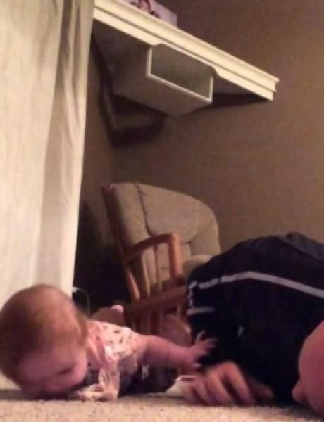 Inspirativne vežbe za bebu koje morate probati