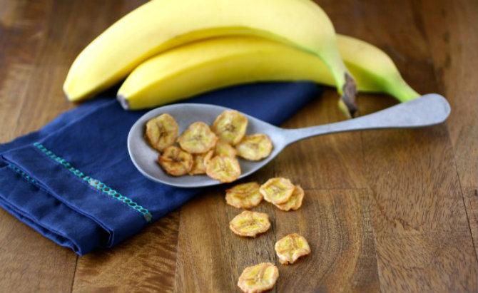 Banana Chips Čips od jabuka i banana