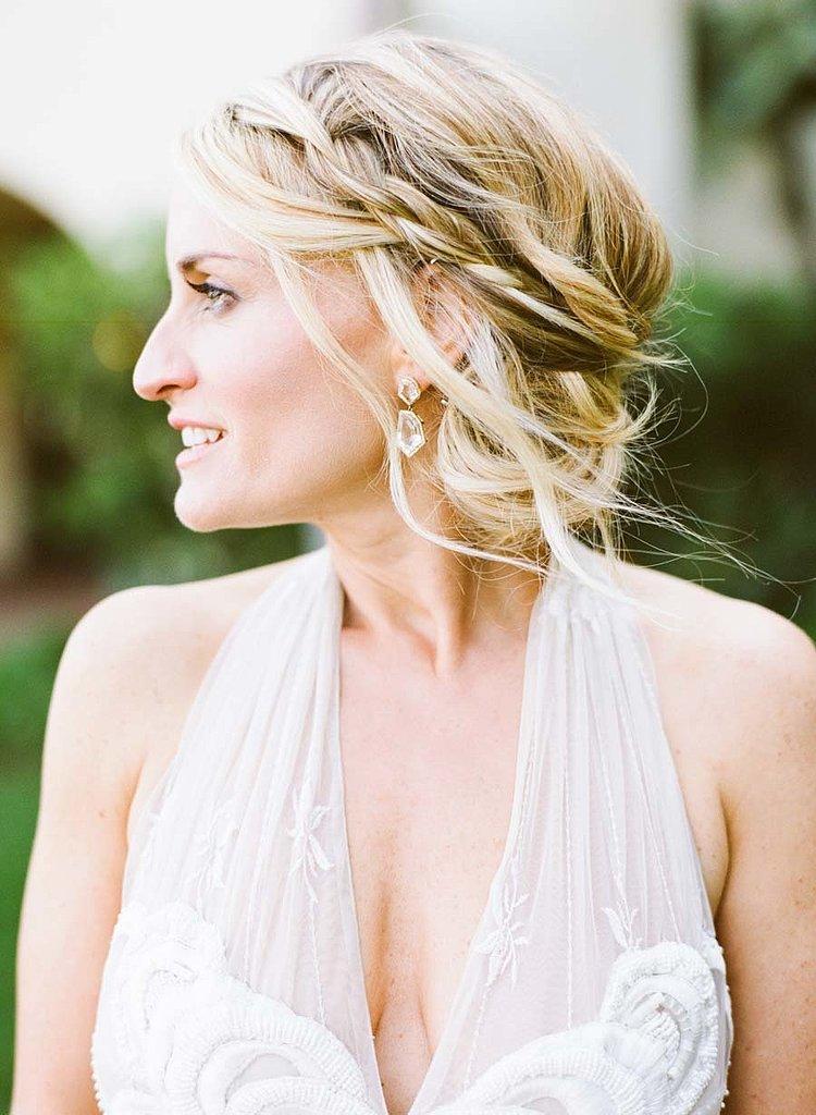 Braided Bun Frizura za venčanje: Pletenica i punđa