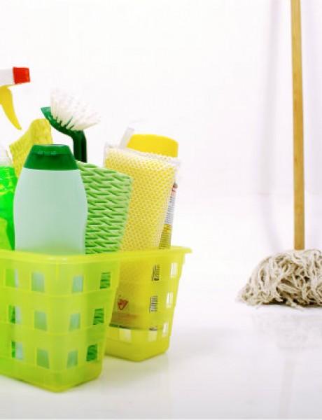 Napravite sami: Sredstva za čišćenje kuće