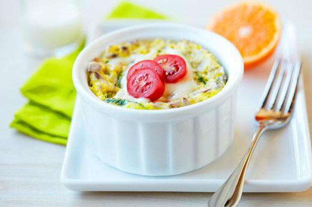 Egg Veggie Breakfast Bowl Pet najboljih recepata za jela od jaja
