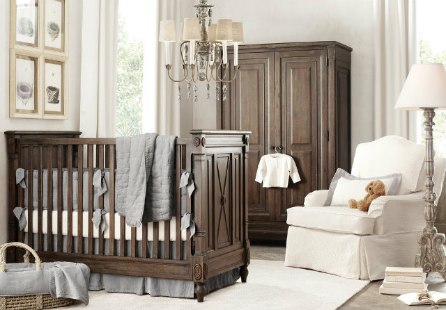 Temptingly Traditional Gender Neutral Nursery Uredite sobu svoje bebe