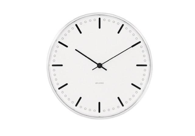 arne jacobsen wall clock simple 1 Sat u kuhinji ulepšaće vam prostor