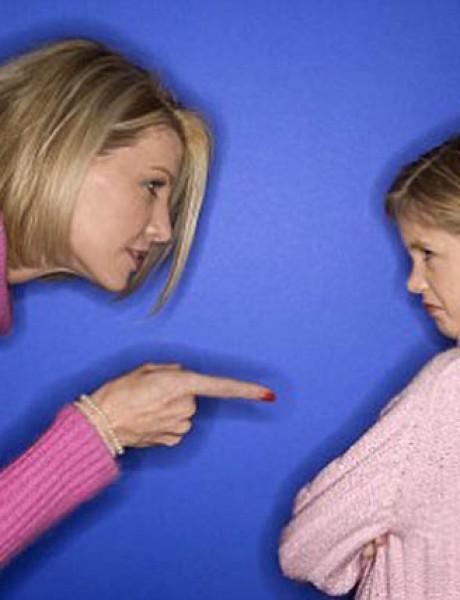 Zašto vikanje pali kod dece?