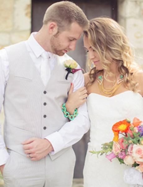Inspiracija za vaše prolećno venčanje