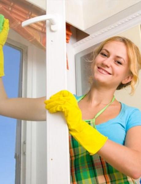 Operite prozore kao profesionalac