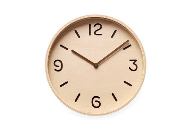 wooden wall clock simple Sat u kuhinji ulepšaće vam prostor