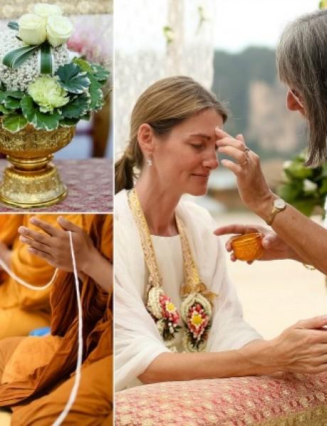 A na Tajlandu, venčanje na plaži
