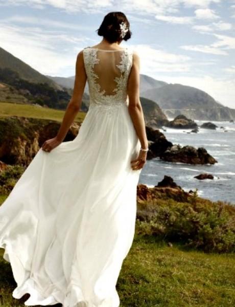 Venčanica dana: Lagana venčanica za opušten hod do oltara