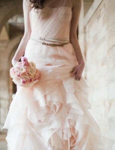 Venčanica dana: Bajkovita roze haljina