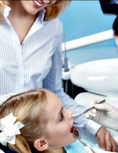 Dete mirno na stomatološkoj stolici… moguće je!