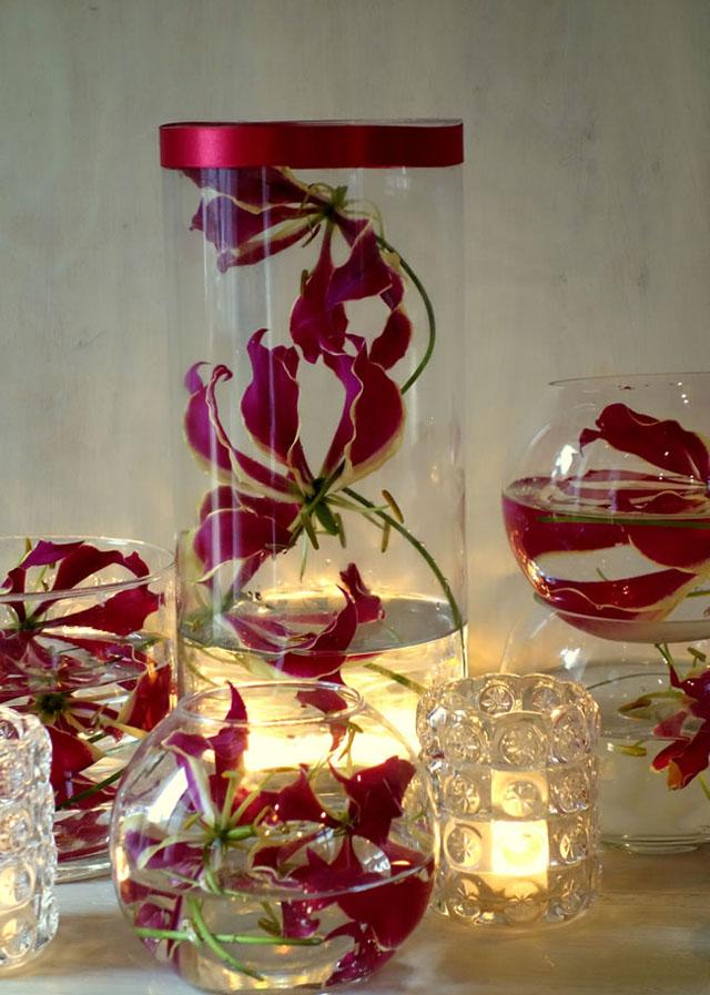 7 savvy wedding flowers for a small budget Gloriosa lily Budite lukavi: Prelepi buketi za ograničen budžet
