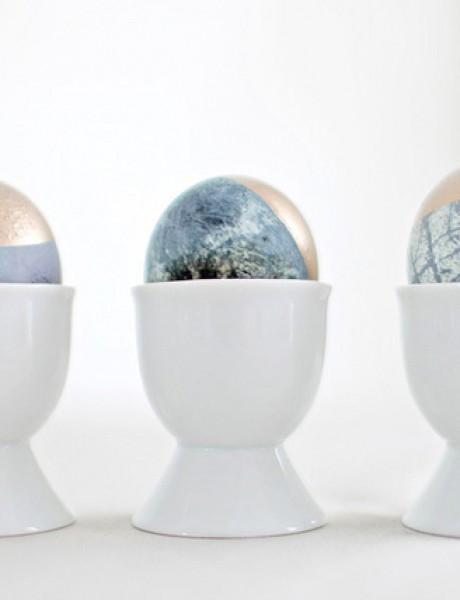 Jednostavne ideje za šik uskršnja jaja