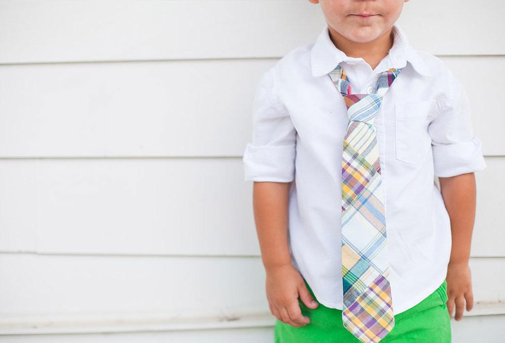 His First Neckwear Fantastične uskršnje odevne ideje za dečake