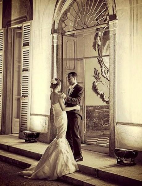 Album uspomena pun fotografija sa venčanja poznatih