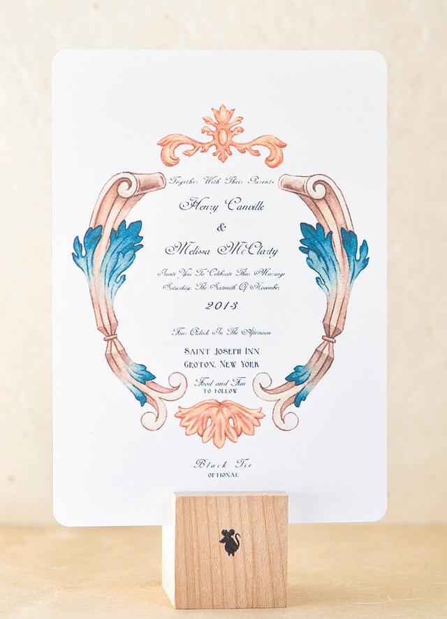 Scroll Style Unikatne, a prelepe: Pozivnice za vaše venčanje