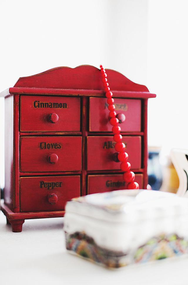 So cute old spice box adds pop color perfect1 Vrhunski njujorški enterijer   za džabe!