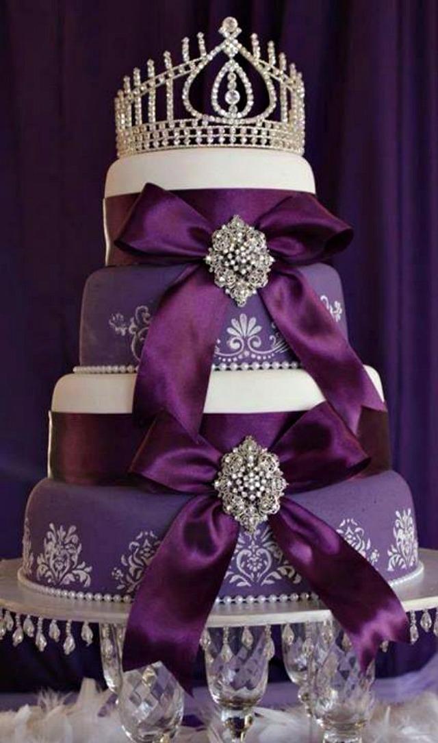 Torta za princeze Trendi venčanje: Torta sa kristalima