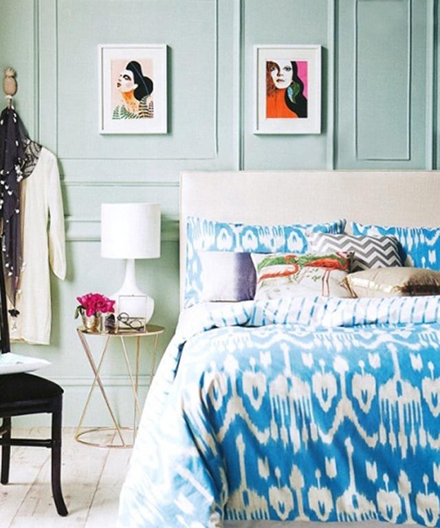 anthropologie Izaberite najbolju paletu boja za svoju spavaću sobu