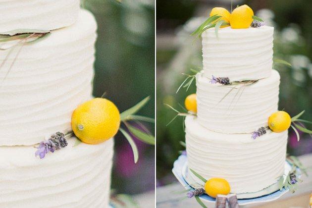 embedded lemon flavor wedding cake Mladenačke torte za ovo proleće
