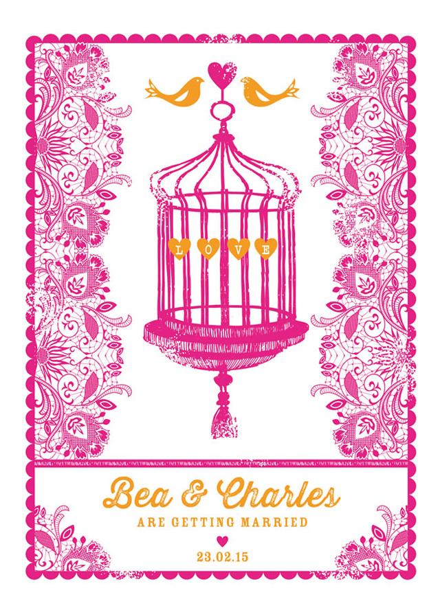 gorgeous wedding stationery to match the hottest themes of 2014 ditsychic.com £2.75 Najpopularnije pozivnice za venčanje