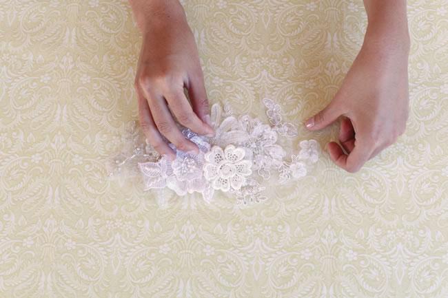424 DIY: Vintage pojas za haljinu