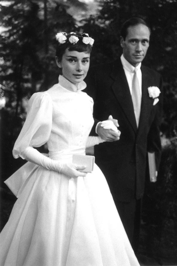 Audrey Hepburn glamour 28jan14 getty b 592x888 Venčanje iz snova: Alternativne venčanice
