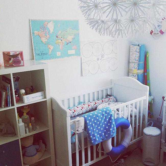 Eclectic Accents Vruće sa Instagrama: Moderne sobe za bebe